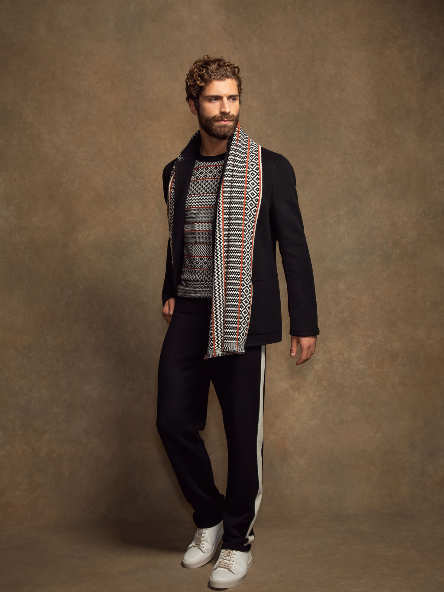 Johnstons of Elgin AW20 Mens Look