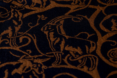 The Rarer Wools Woodcut Design. Read More.