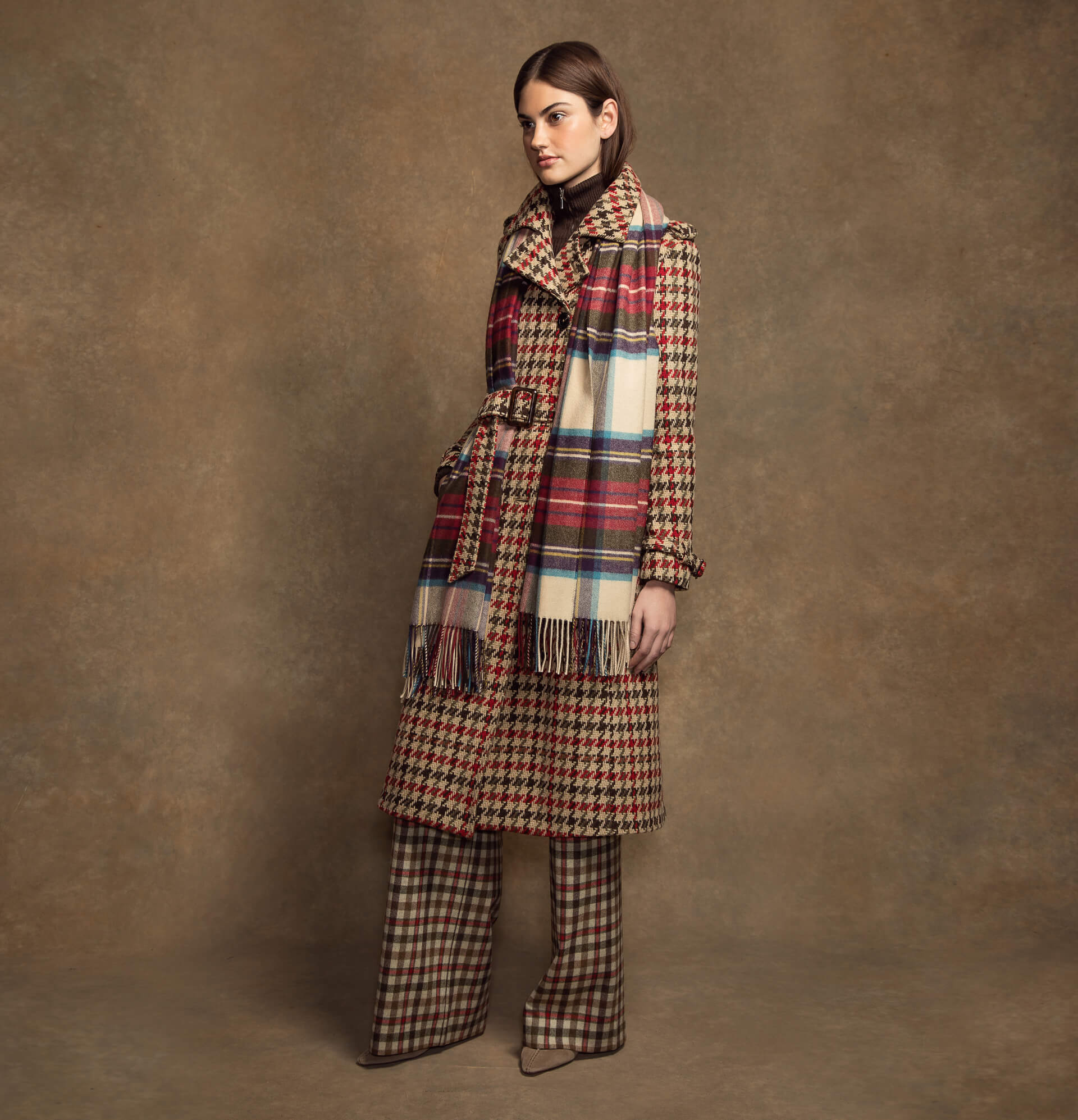 Johnstons of Elgin Womens Origins Contemporary Tweed Collection