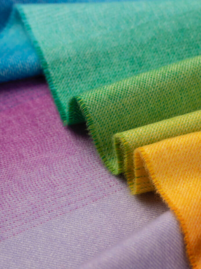 Johnstons of Elgin Rainbow Scarf