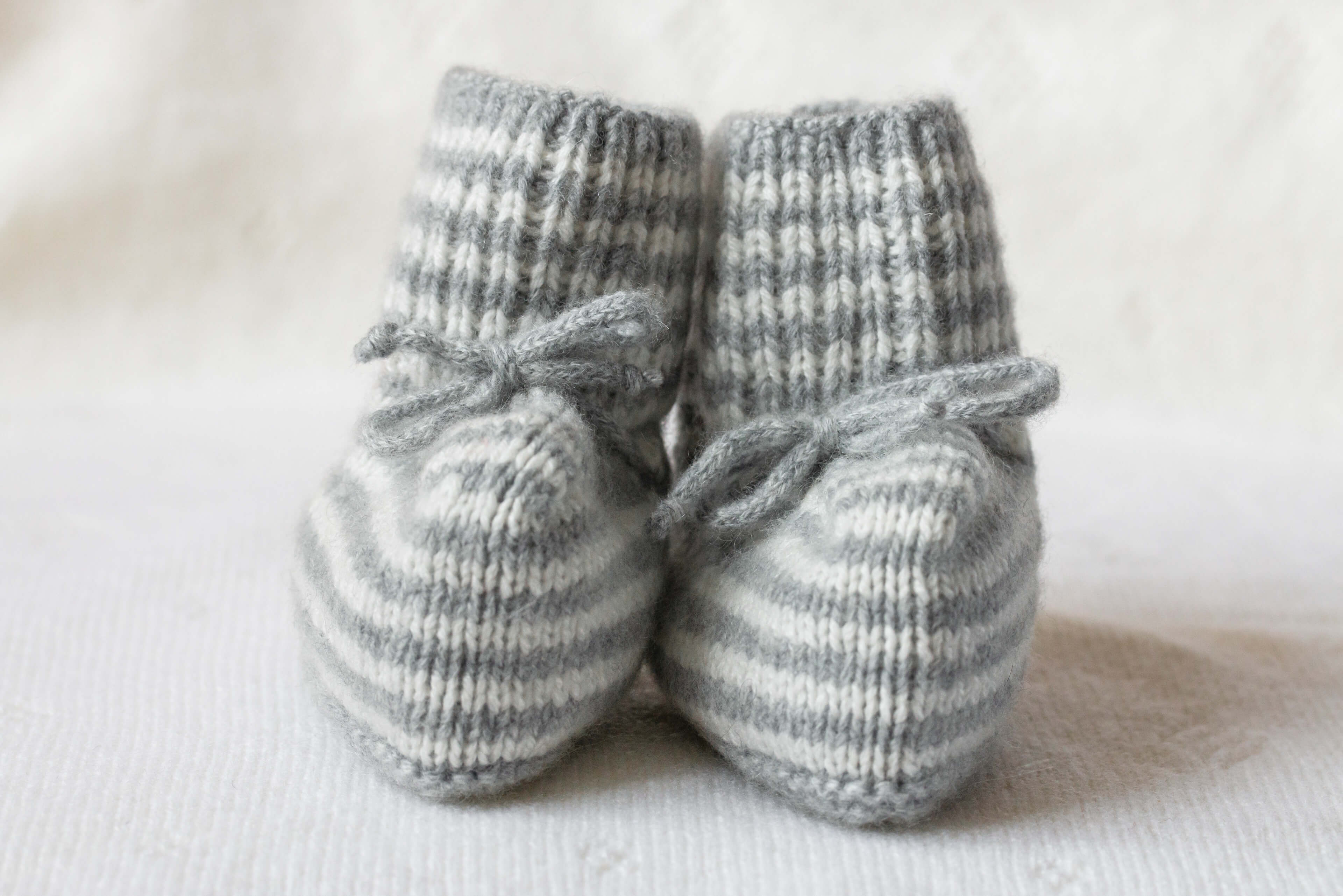 Johnstons of Elgin Cashmere Baby Booties