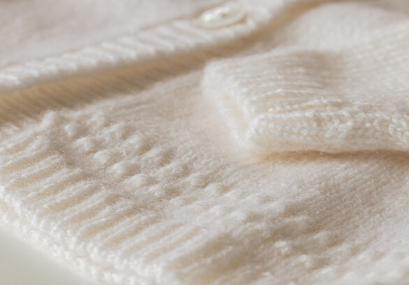 Johnstons of Elgin baby cardigan